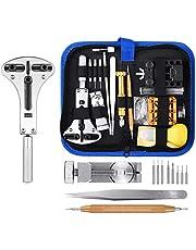 ETEPON 149pcs Kit d'outil de Réparation de Montre avec Scaled Spring Bar Broche Brucelles Tournevis Cas Retrait Band Holder ET015