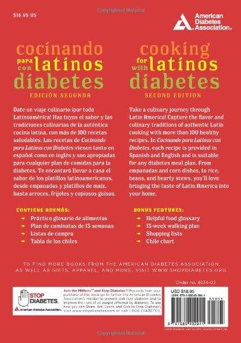 Cocinando para Latinos con Diabetes (Cooking for Latinos with Diabetes) (American Diabetes Association Guide to Healthy Restaurant Eating) by American Diabetes Association