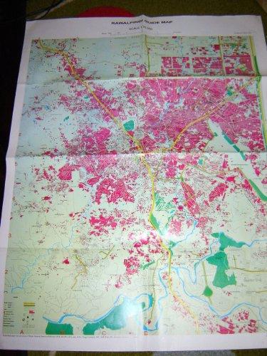 Rawalpindi Guide Map / Scale 1:20,000 / Detailed Street Map / Printed in Pakistan