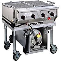 MagiKitchN LPAGA-30 30 Transportable Gas Outdoor Grill Charbroiler