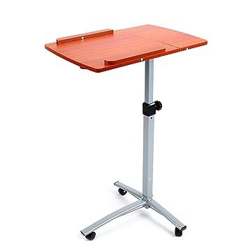 Altura ajustable portátil ordenador portátil mesa Atril Soporte ...