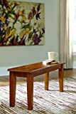 Signature Design by Ashley D199-00 Dining Chair/Bench, Rustic Finish