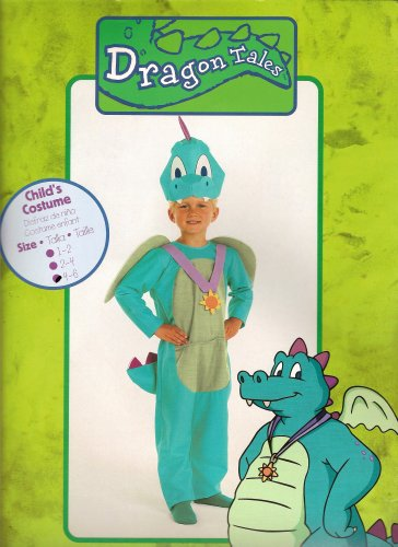 Dragon Tales Costume (Dragon Tales Ord Halloween or Play Costume Child 4-6)