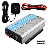 GIANDEL 2000W Power Inverter 24V DC to 120V AC with 20A Solar Charge Control and 2xAC 110-120V US Outlets and 1x2.4A USB and Remote Control