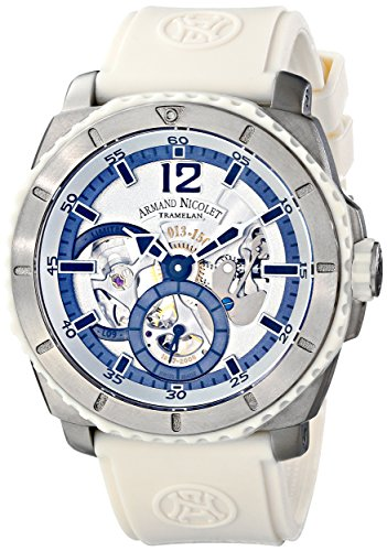 Armand Nicolet Men's T619B-AG-G9610B L09 Limited Edition Titanium Sporty Hand Wind Watch