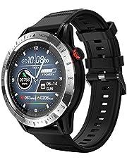 FT03 Smart Watch Mäns EKG Hjärtfrekvens Sport Klocka Simning Sömnövervakning Väckarklocka 30m Vattentät vs North Edge Watch