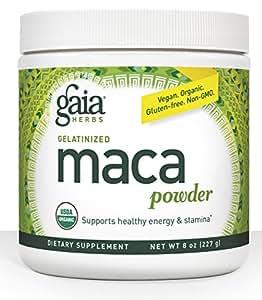 Gaia Herbs Maca Powder, 8-Ounce Bottle