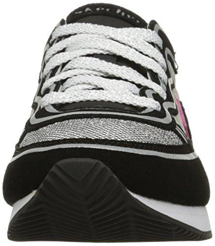 Skechers Originali Womens Retros Og 98 Classy Kick Fashion Sneaker Black / Leopard