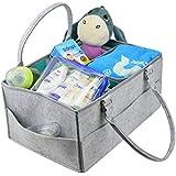 Mengar Baby Diaper Caddy Organizer | Large Nursery Storage...