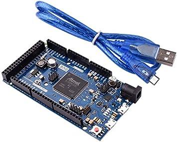 ARCELI Due 2012 R3 Board SAM3X8E Módulo de la Placa de Control Arm Cortex-M3 de 32 bits para Arduino: Amazon.es: Electrónica