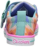 Skechers Kids Girls' Sparkle LIT-Rainbow Cutie