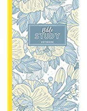 Bible Study Notebook: Beautiful Bible Journal Book - Great Notebook And Diary For Recording Daily God Teaching, Scripture And Prayers : 100 Pages ... Perfect Gift Faith For Women, Girls, Men, Boys, and Kids - Yellow