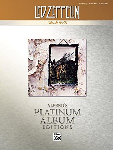 Led Zeppelin - IV Platinum Album Edition: Drum Set Transcriptions (Alfred's Platinum Album Editions)
