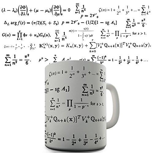 Maths Formula Funny Design Novelty Gift Tea Coffee Office Mug