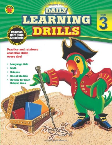 Daily Learning Drills, Grade 3 (Brighter Child: Daily Learning Drills) by Brighter Child