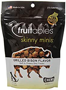 Amazon.com : Fruitables Skinny Minis Chewy Dog Treats in