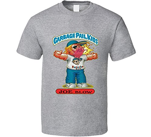 Joe Kids T-shirt - Perfect Fit T Shirts Garbage Pail Kids Joe Blow Grey T Shirt XL Sport Grey