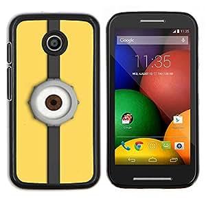 TECHCASE---Cubierta de la caja de protección para la piel dura ** Motorola Moto E ( 1st Generation ) ** --Reloj del ojo