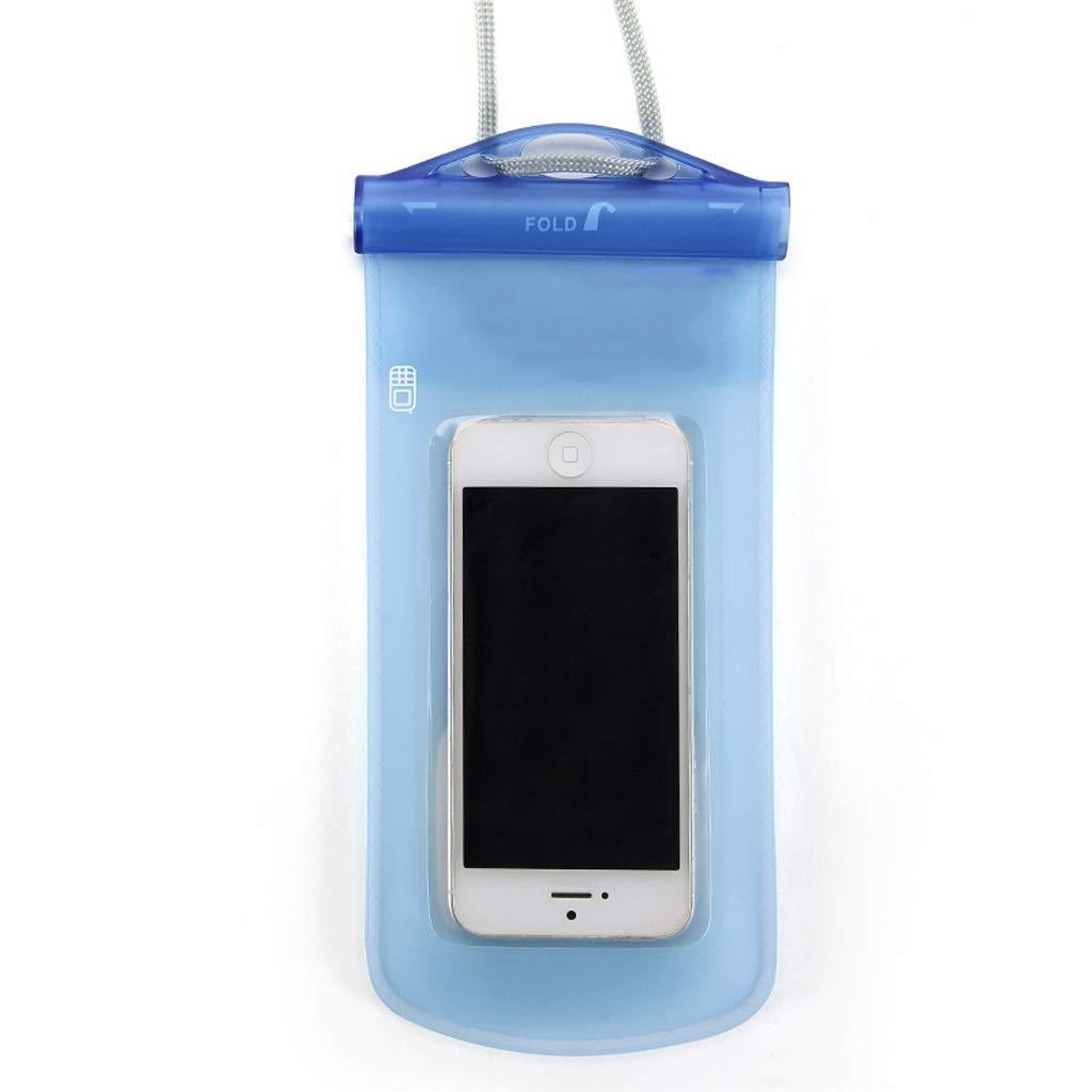 Hzpxsb Mobile Phone Waterproof Bag Universal Touch Screen Mobile Phone Swimming Underwater Photo Seal Diving Waterproof Bag Multifunction Mobile Phone Bag