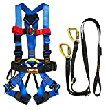 Fusion Climb Pro Backyard Zip Line Kit Harness Lanyard Bundle FK-A-HL-04