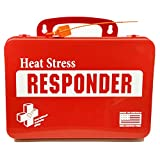 First Voice HEAT01-KIT 24 Person Heat Exhaustion Kit with Plastic Case