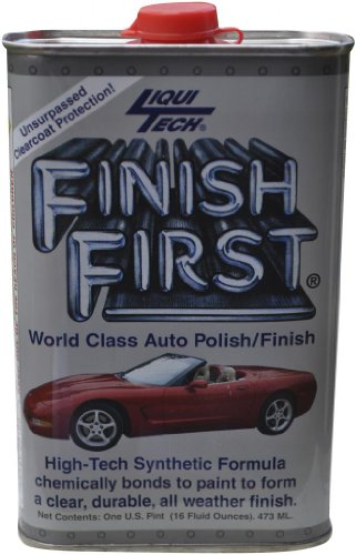 Liqui Tech Finish First Auto Polish (16 oz.)