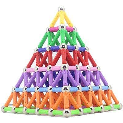 Edress Magnetic Sticks Building Set Intelligence Toys,  157 ...