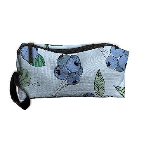 SuBenSM Pistachio Ricotta Salad Pattern Makeup Bag Printing Girl Women Travel Portable Cosmetic Bag Sewing Kit Stationery Bags Cute Storage Pouch Bag Multi-function Bag (Salad Pistachio)