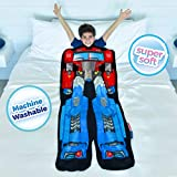 Blankie Tails | Transformers Blanket - Double Sided Super Soft and Cozy Minky Fleece Blanket , Machine Washable Fun No Zipper Transformer Wearable Blanket for Kids