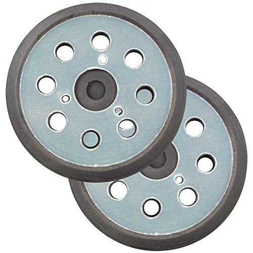 Superior Pads and Abrasives RSP43 5 inch Aftermarket Makita stick on pad replaces Makita P/N 7430567 2 PER PACK by Superior Pads and Abrasives