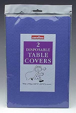 Paper Tablecover Royal Blue For Disposable Party Tableware Amazon