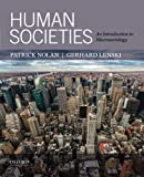 Human Societies: An Introduction to Macrosociology