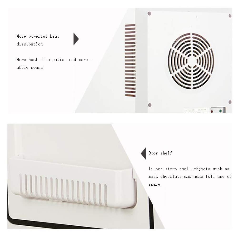 Xyanzi Frigoríficos Mini Mini Escritorio, Refrigerador De 16 ...