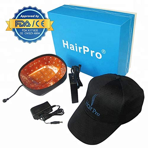 Laser Hair Growth System + 2 FREE Gifts + FREE 3 or 4 Day Shipping - Hair Loss Treatment Reverses Thinning For Men And Women - Uses Cold Laser Therapy - Stimulates Hair Growth, Reverses Thinning.