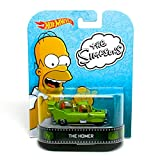 The Homer / The Simpsons - Hot Wheels 2013 Retro Entertainment Series Die Cast Vehicle