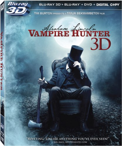 Abraham Lincoln: Vampire Hunter (Blu-ray 3-d / Blu-ray / DVD / Digital Copy)