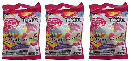 My Little Pony Fash'ems LED Micro Lite - 3 Packs/Toys ()