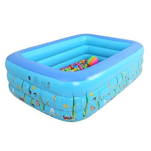 Bebé piscina inflable casa niños engrosamiento cómodo viaje ...