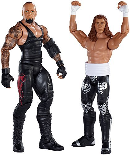 WWE Battle Pack Series # 33: Undertaker vs. Shawn Michaels Action Figure (2-Pack) by Mattel