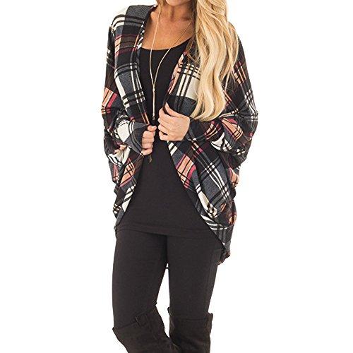 Donna Top Damark Giacche Manica cappotto Parka Elegante Blazer qAYnAdHpx 34c07ccfa0b