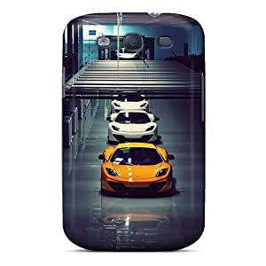 For WilliamMorrisNelson Galaxy Protective Case, High Quality For Galaxy S3 Mclaren Mp4 12c Skin Case Cover by icecream design
