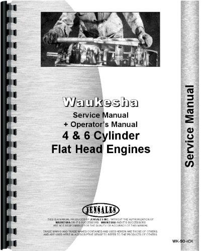 Read Online Waukesha VIK, VIL, VIM, VIS Engine Service & Operators Manual pdf epub