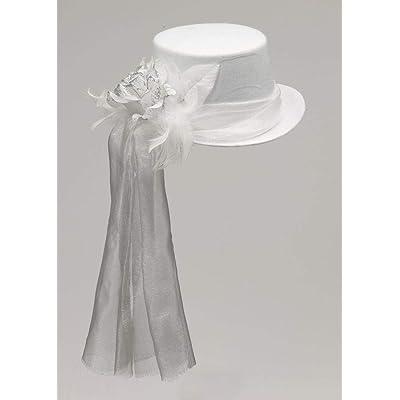 Forum Victorian Gothic Vampire Costume Burlesque Top Hat: Toys & Games