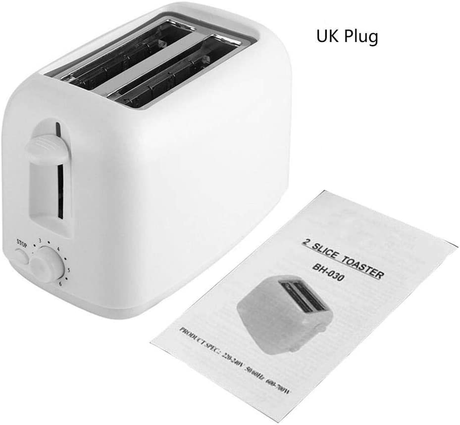 Portable Household Toaster Home Sandwich Breakfast Machine Automatic Breakfast Toaster Driver Creative Gift (UK PLUG)