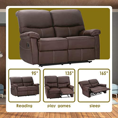 2 Set Sofa Loveseat Chaise Couch Recliner 2 Leather Living Room Furniture PR - the best living room sofa for the money
