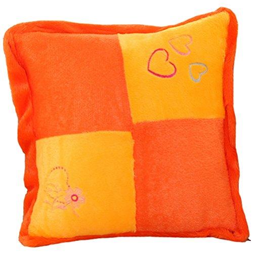 Ultra-soft Plush Wavy Striped/Patchwork Stuffed Bed Throw Pi