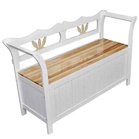 Fine Amazon Com Simple Happyness Storage Ottoman Bench Stool Dailytribune Chair Design For Home Dailytribuneorg