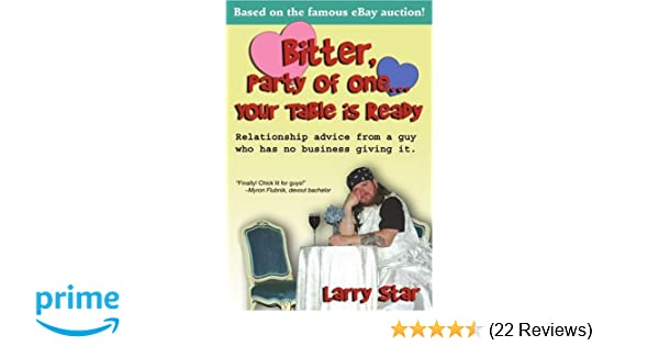 Bitter, Party of One    Your Table is Ready: Relationship