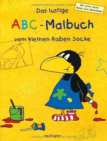 Das Lustige Abc Malbuch Vom Kleinen Raben Socke Amazon De Spielzeug