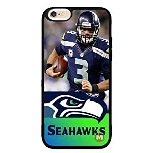 Seattle Seahawks Russell Wilson iPhone 6 Rubber Case Cover